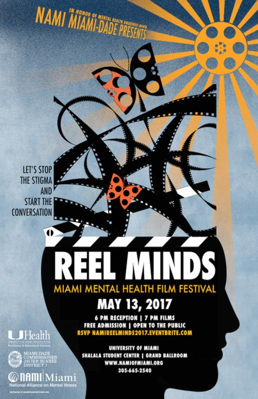Reel Minds Mental Health Film Festival Presented by NAMI Miami-Dade Poster