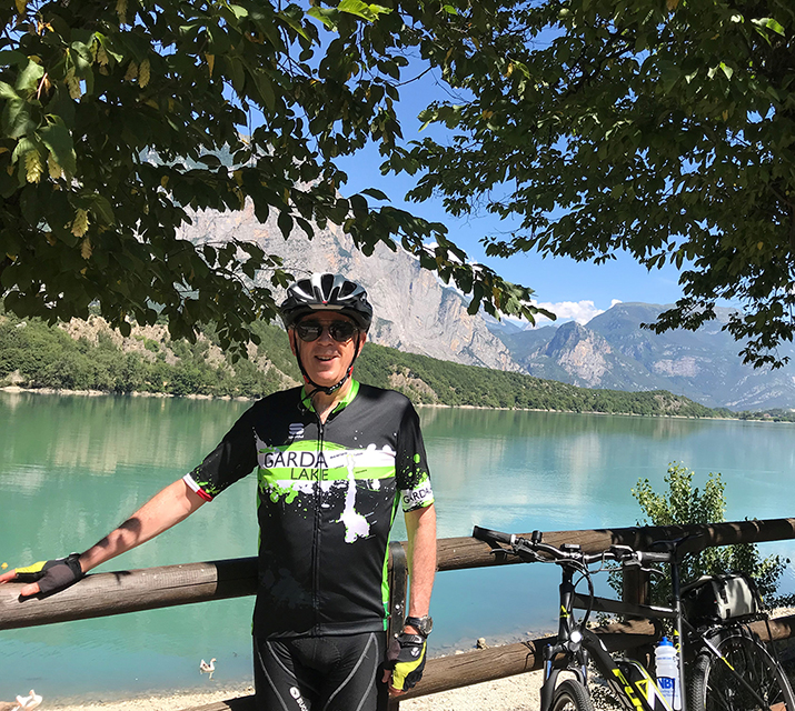 Dr. Steve Hirsch Cycling The Dolomites, Italy 2018
