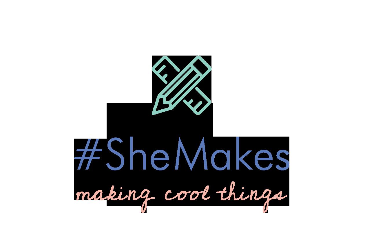 SheMakes logo light