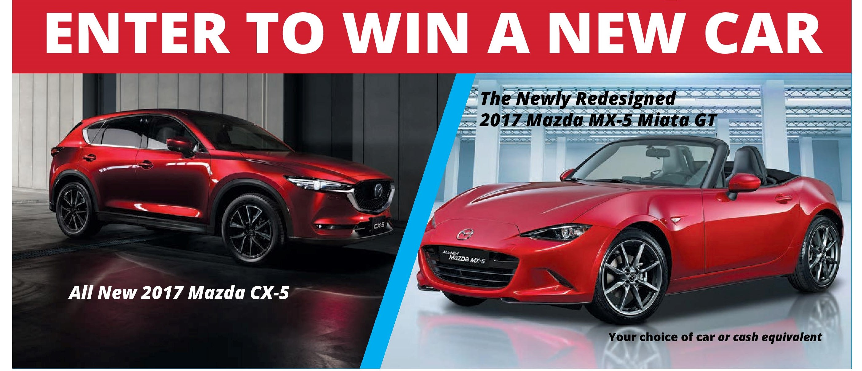 Win A Car: New Wheels Raffle 2017: Your Chance To Win A New Car