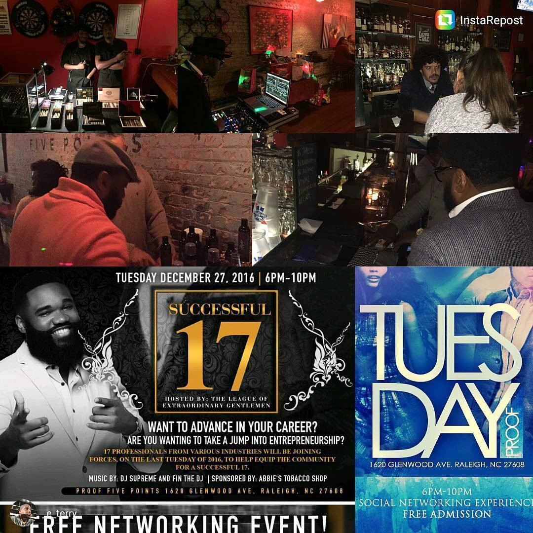 #ProfessionalNetworking #Music #Cigars #Food #Raleigh #Triangle #tuesdaymixers