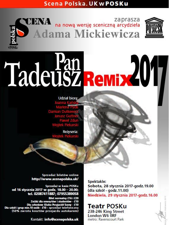 PAN TADEUSZ REMIX 2017