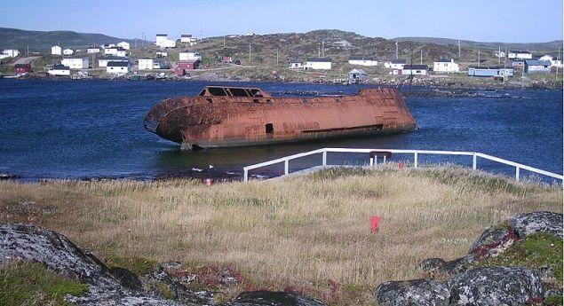 Shipwreck, Red Bay, Labrador