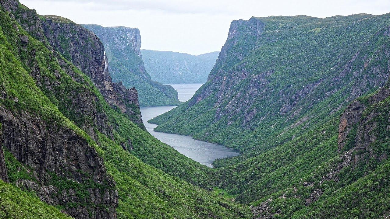 Western Brook Fjord - Gros Morne, Newfoundland