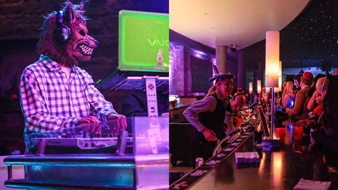 werewolf dj at paranormal palace 2016 for halloween event denver 2016