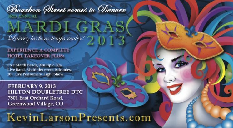 Denver Mardi Gras 2013