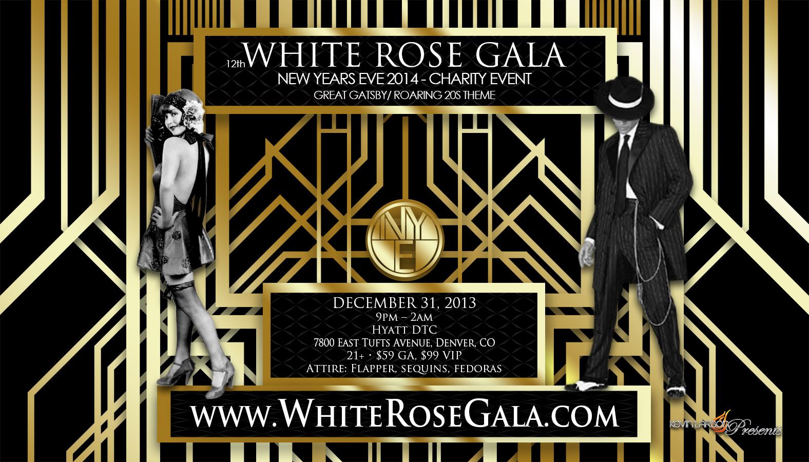 White Rose Gala NYE 12th Annual Tickets, Tue, Dec 31, 2013 ...