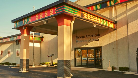 African American Museum of Iowa exterior