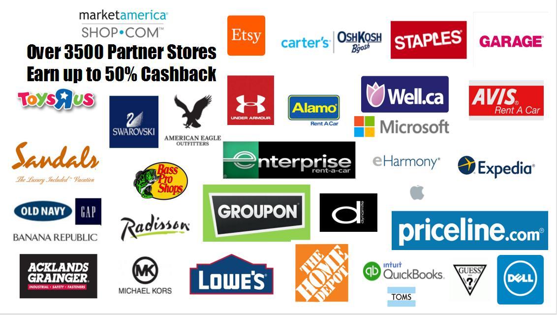 market america shop.com partner stores