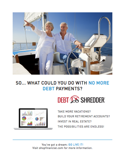 Shop Financial Debt Shredder