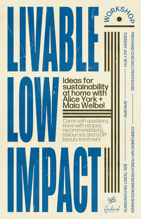 Livable Low Impact flier