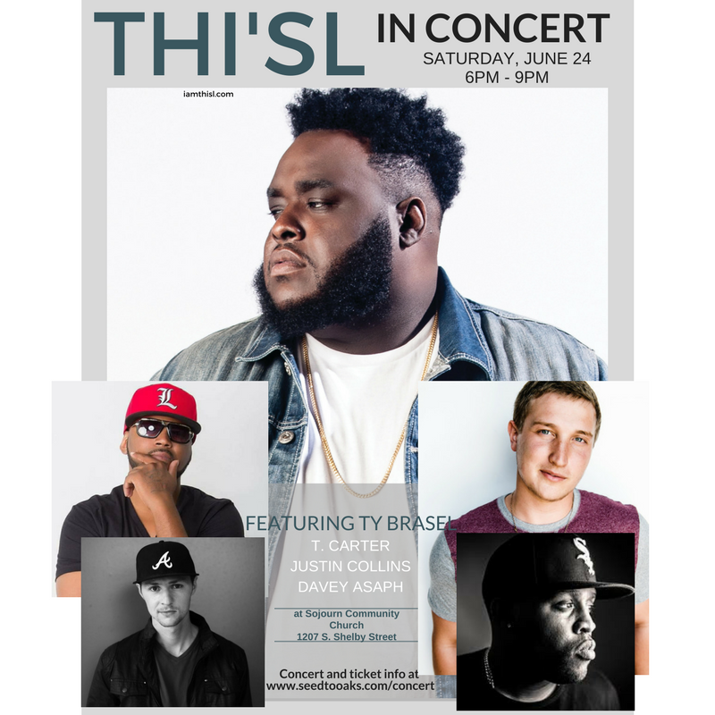 CHRISTIAN HIP HOP CONCERT FEATURING THI'SL!