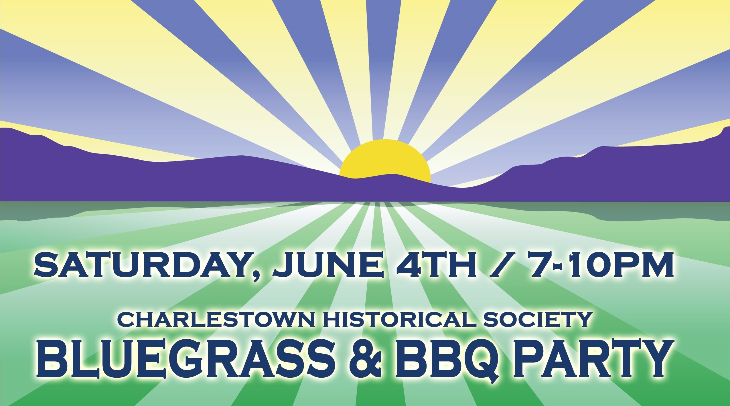 Charlestown Historical Society: Bluegrass & BBQ party