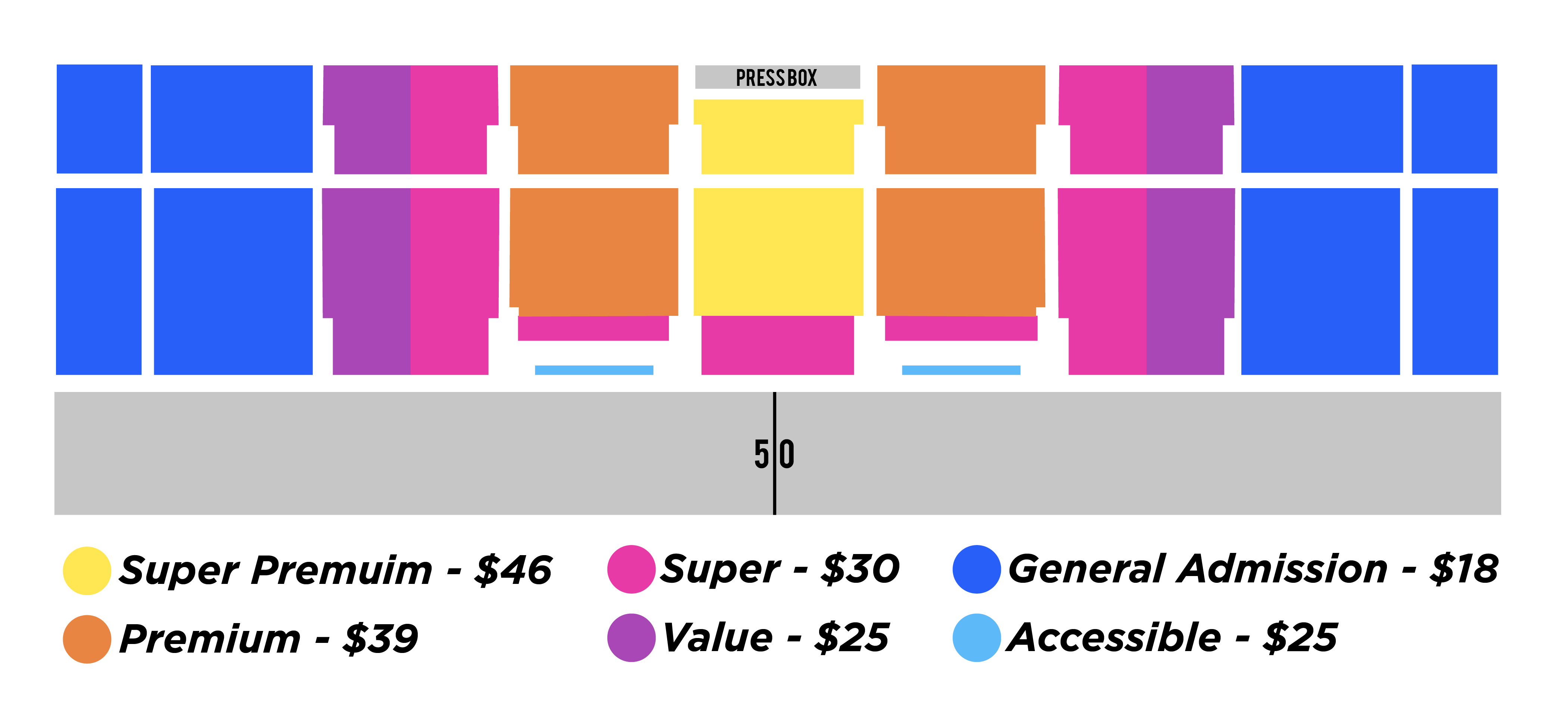 seating chart with prices