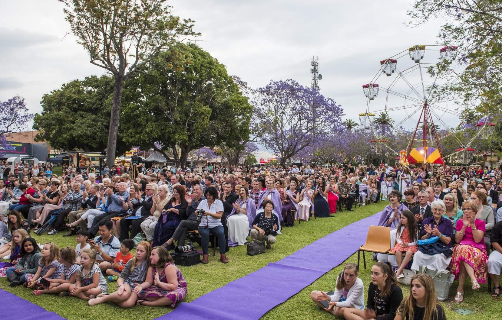 Jacaranda Queen Crowing Reserved Seats