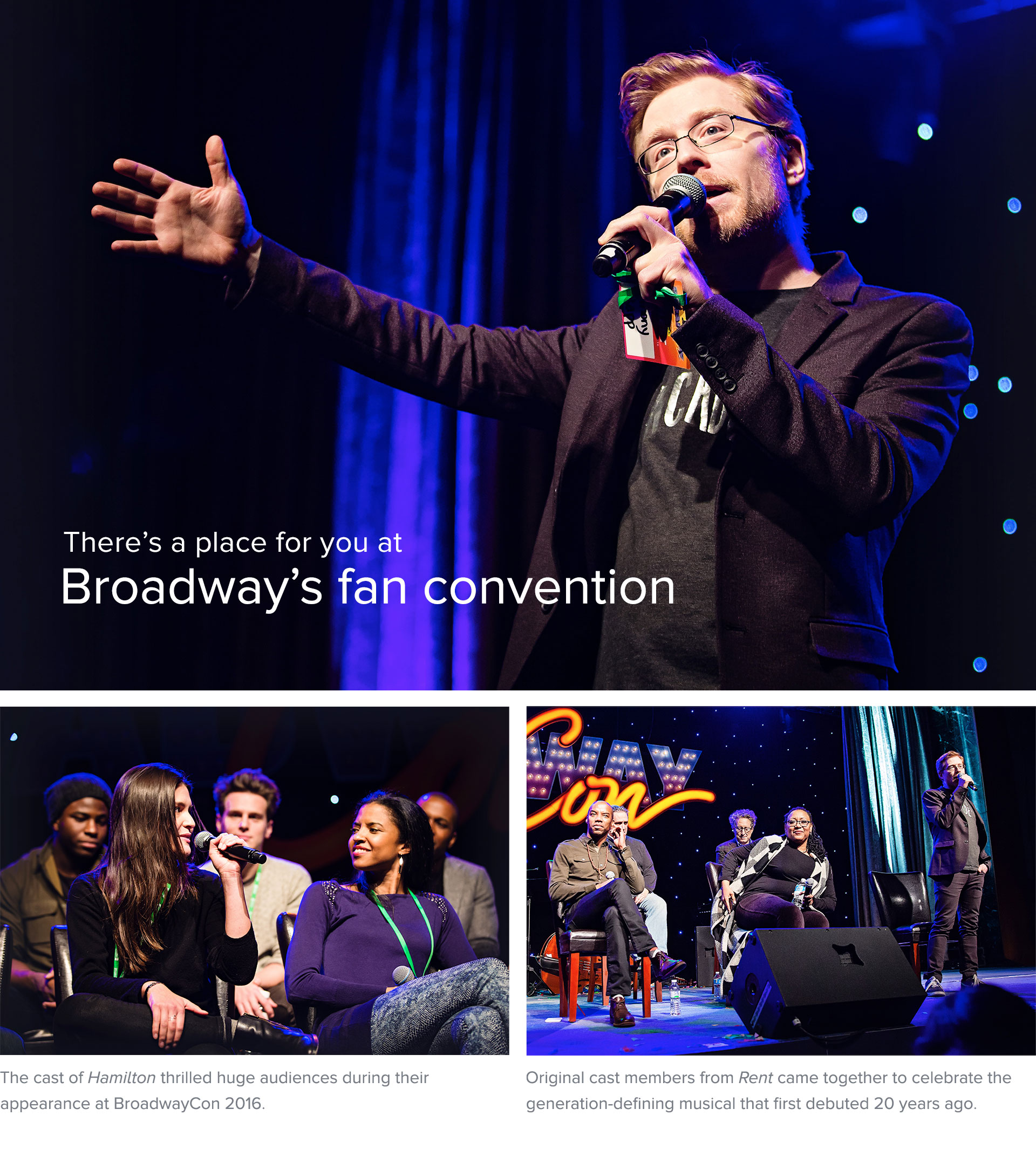There's a place for you at Broadway's fan convention