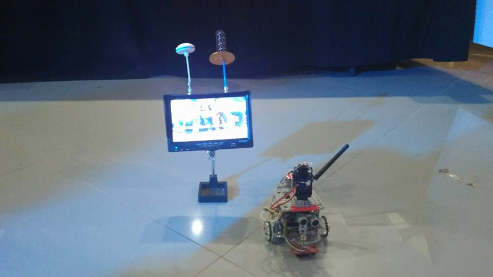 Liser used as a video surveillance bot