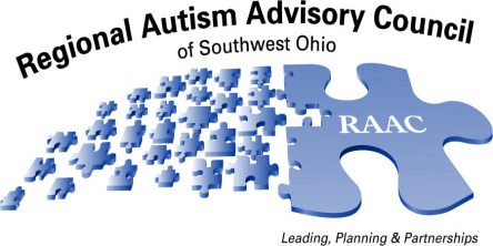 Regional Autism Advisory Council