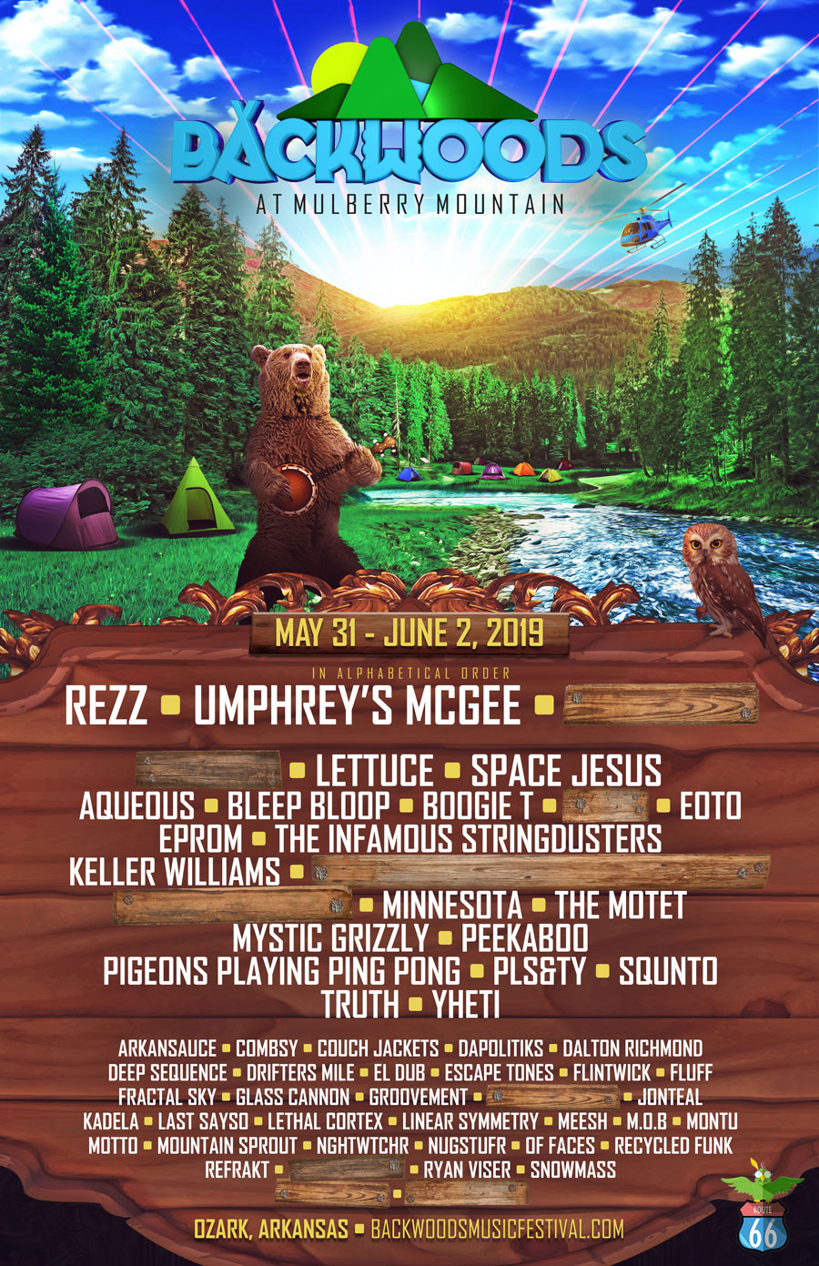 Backwoods 2019 Phase 1