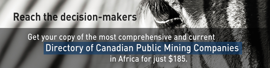 MineAfrica Directory of Canadian Public Companies in Africa