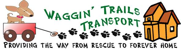Logo Waggin Trail Transport