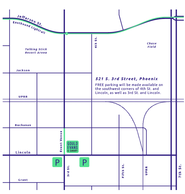 event parking map