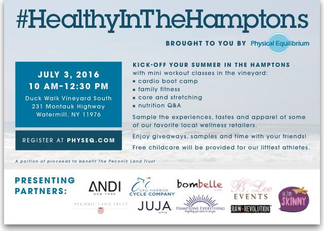 HealthyInTheHamptons Sponsors