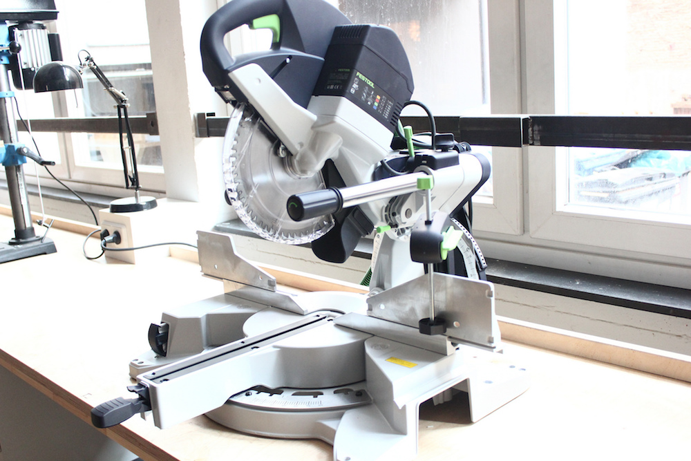 Woodshop in Berlin - Kapex Mitter Saw