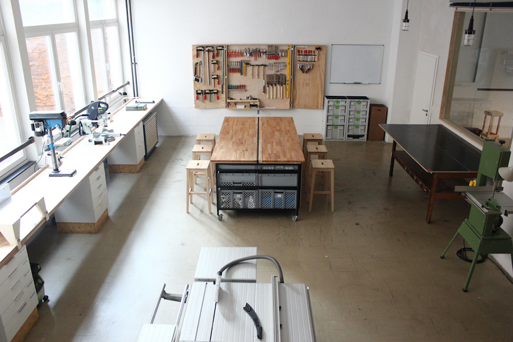 Weekly Woodworking Days - Woodshop in Berlin