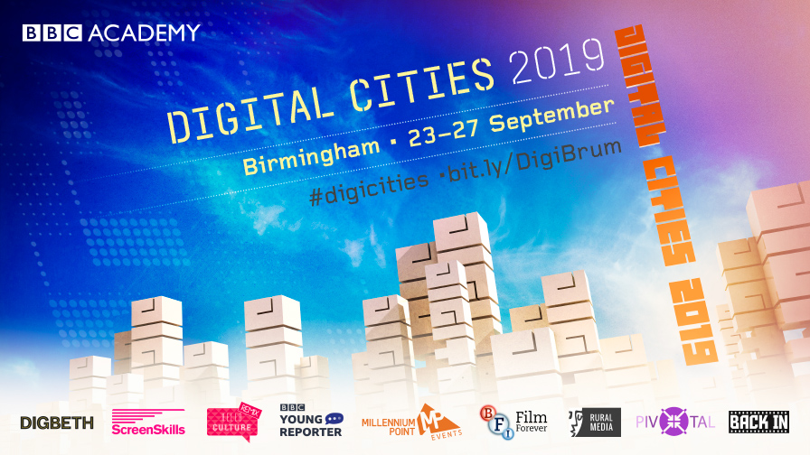 Digital Cities Birmingham branding
