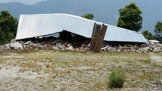 School destroyed in Nepal in 2015