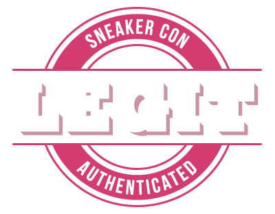 Sneaker Con Authenticated Logo