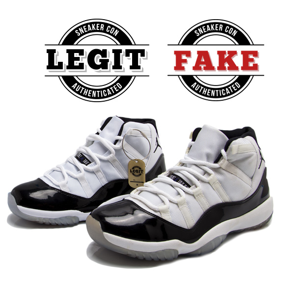 If you're not sure about a shoe, bring it over and have it Sneaker Con  Authenticated.