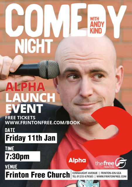Alpha launch night with Andy Kind