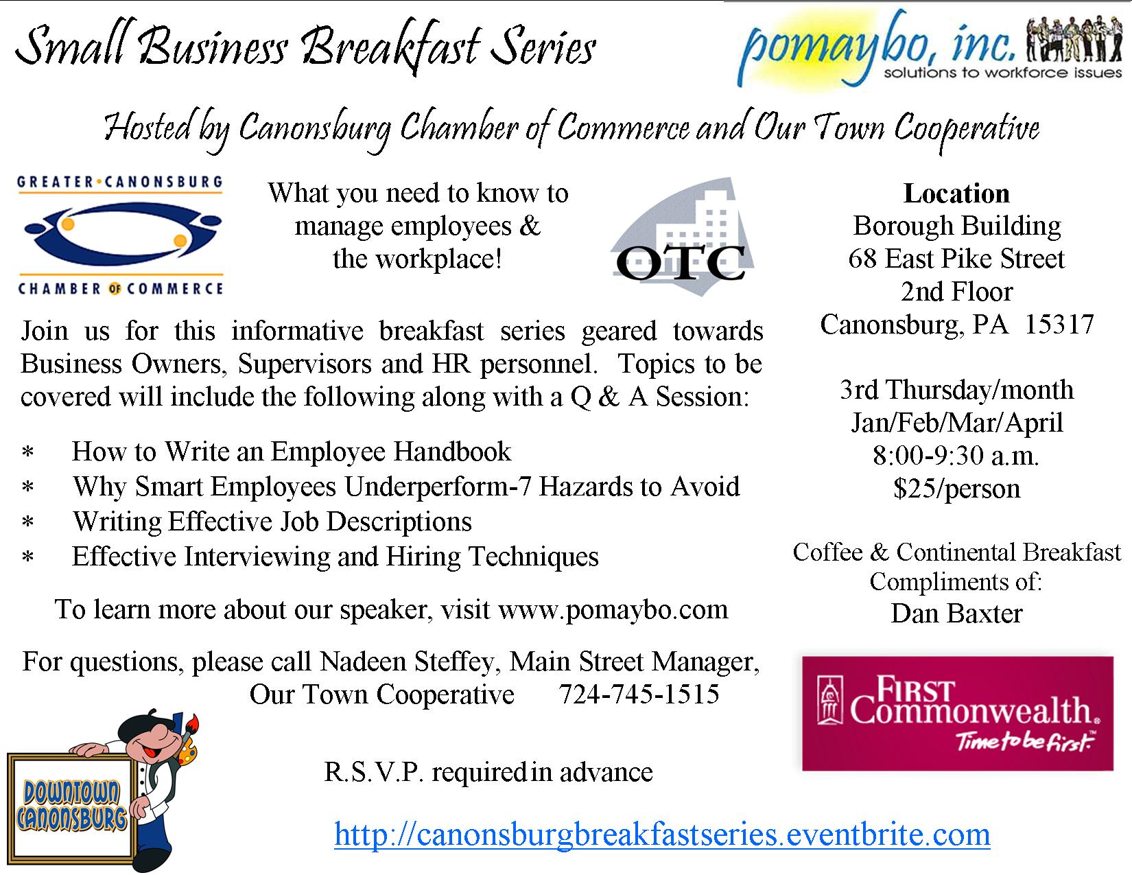 Small Business Breakfast Series