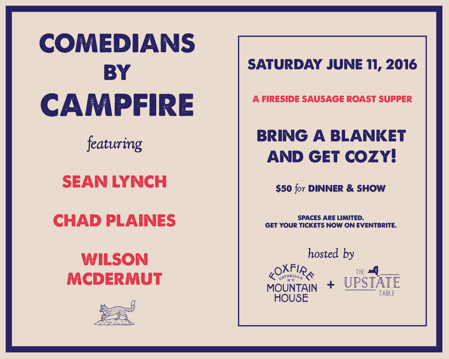 Comedians by Campfire