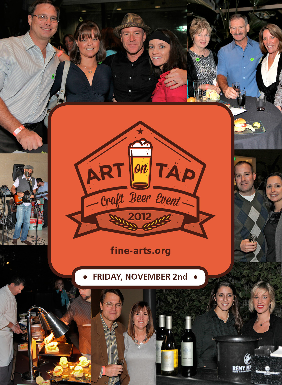 Art on Tap Attendees