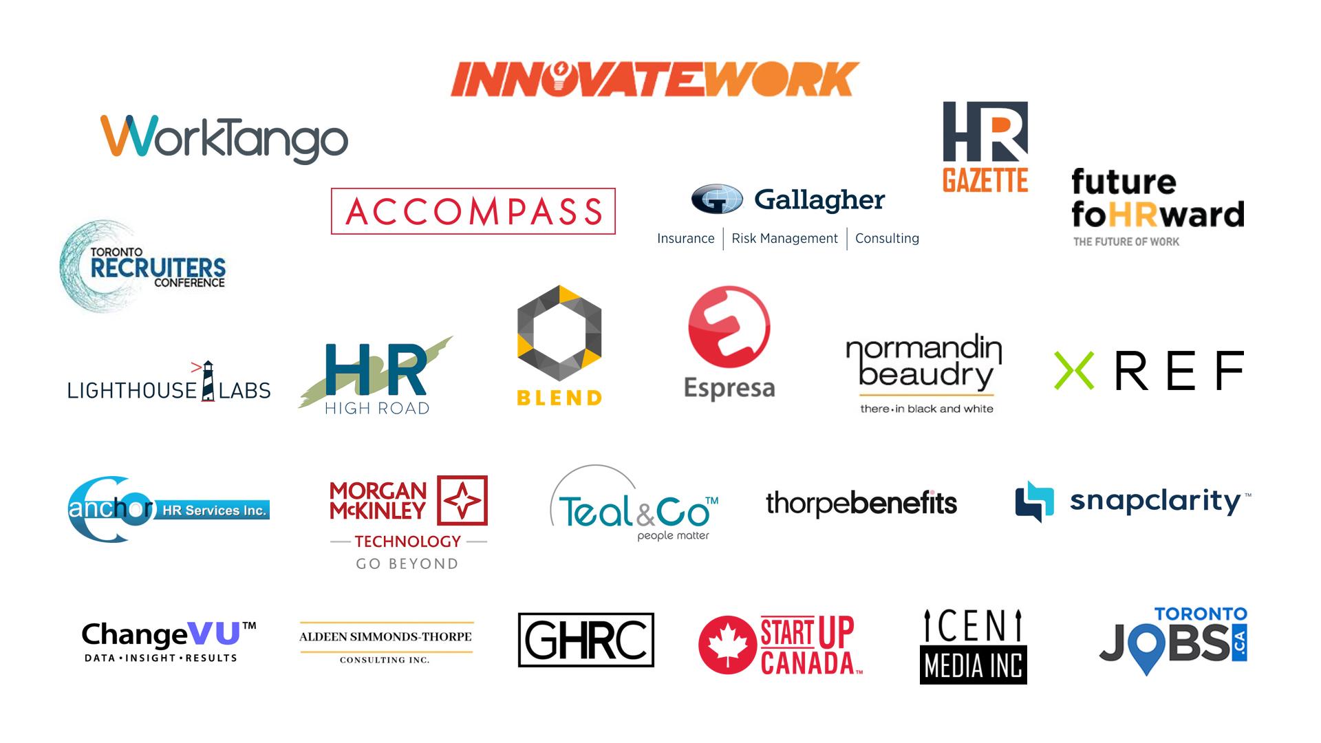 InnovateWork Summit 7 Sponsors
