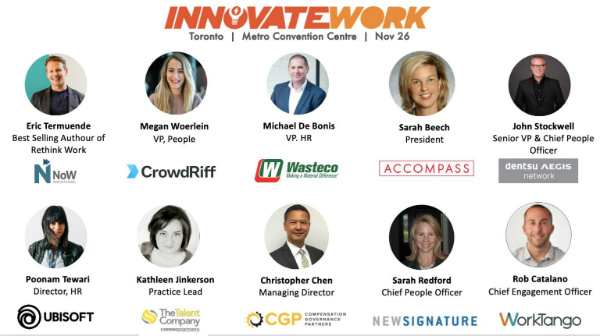 InnovateWork Summit 7 Speakers