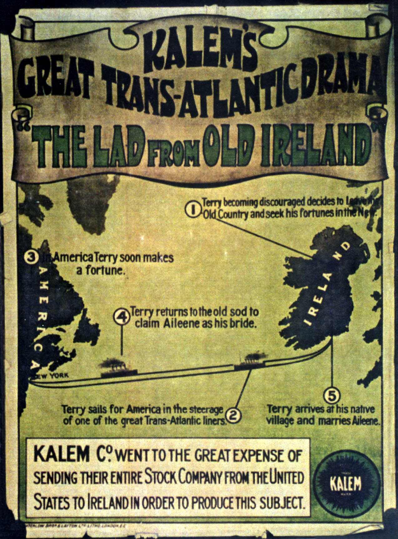 Blazing the Trail: The O'Kalems in Ireland