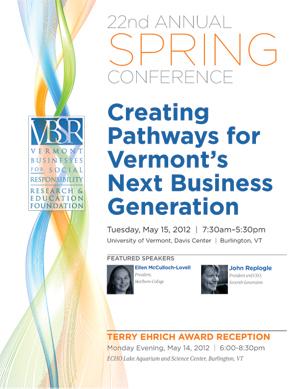 2012 VBSR Spring Conference