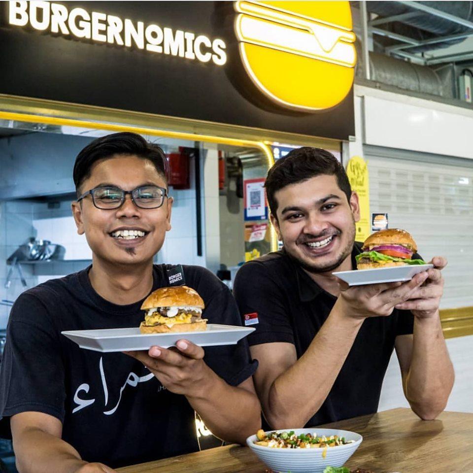 Nazeem from Burgernomics (Pasir Ris Central)