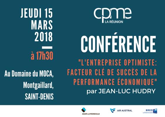 Invitation à la conférence sur l'entreprise optimiste