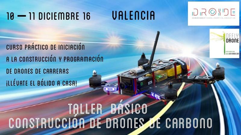 Curso construcción y programación de drones