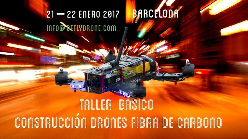 Curso construccion drones de carreras Barcelona