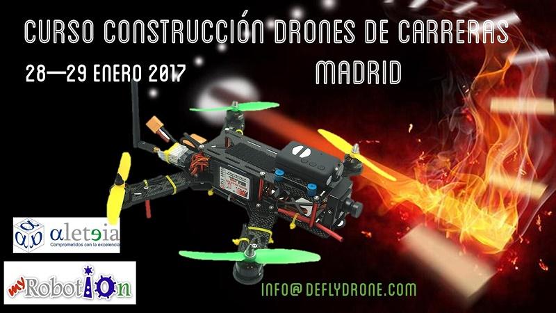 Curso construccion drones Madrid