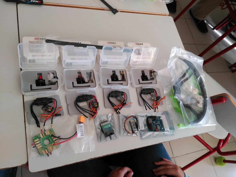 Componentes drone DIY