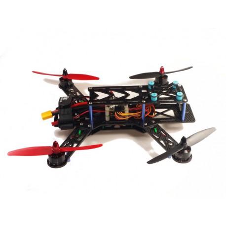 Drone de carreras pura fibra