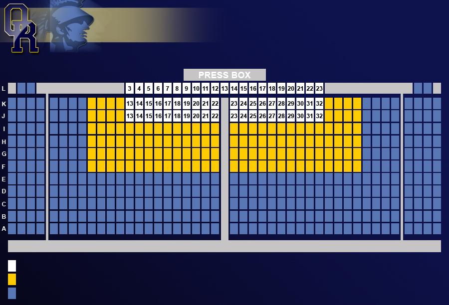 FB Stadium Seating Chart