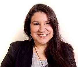 Mariane Gonçalves, ministrante